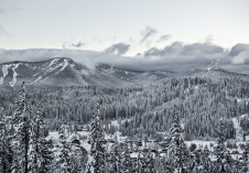 Overlooking downtown Truckee & Northstar